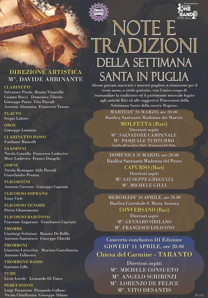 64e32967714c Canosa di Puglia - Le Processioni - Settimana Santa in Puglia 2019 - Pasqua  in Puglia
